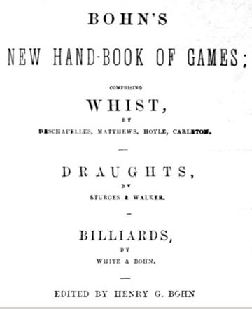 Bohn's Handbook