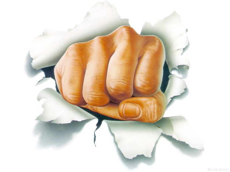 Clench your fist