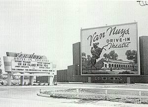 Van Nuys Drive-In, 1948